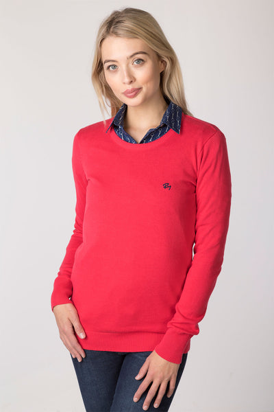 Rose - Ladies Round Neck Sweater