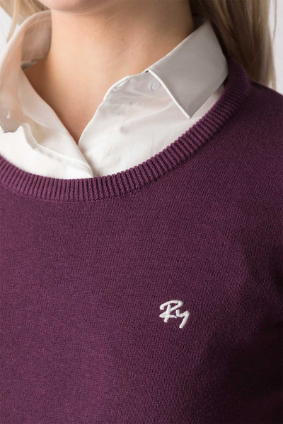 Berry - Ladies Round Neck Sweater