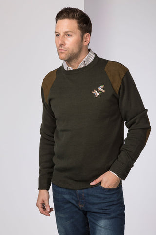 Crew Neck Shooting Jumper
