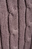 Mocha - Cable Knit Sweater by Rydale