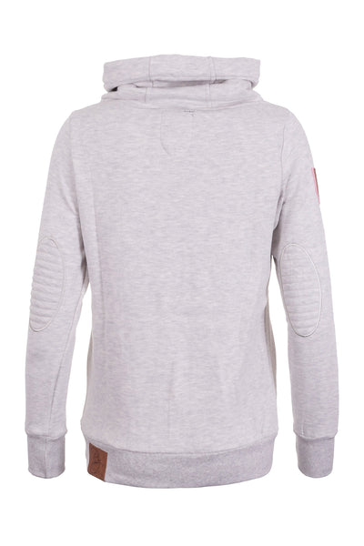 Soft Grey - Ladies Cross Neck Sweatshirt Plain