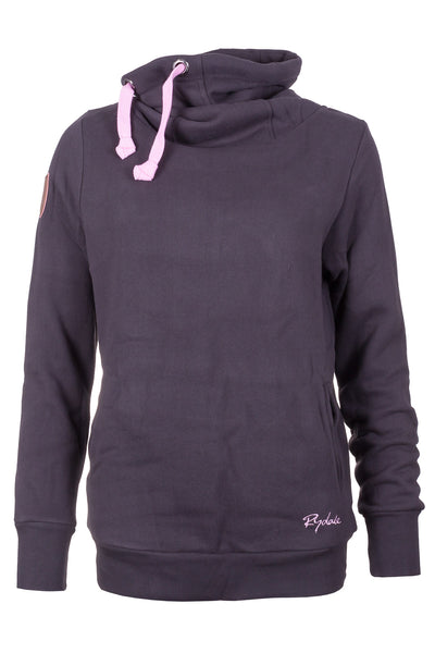 Gunmetal - Ladies Cross Neck Sweatshirt Plain