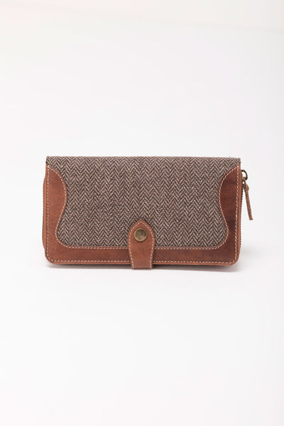 Sally - Daisy Tweed Purse