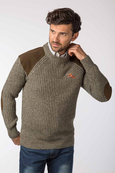 Derby Tweed - Danby Chunky Shooting Sweater