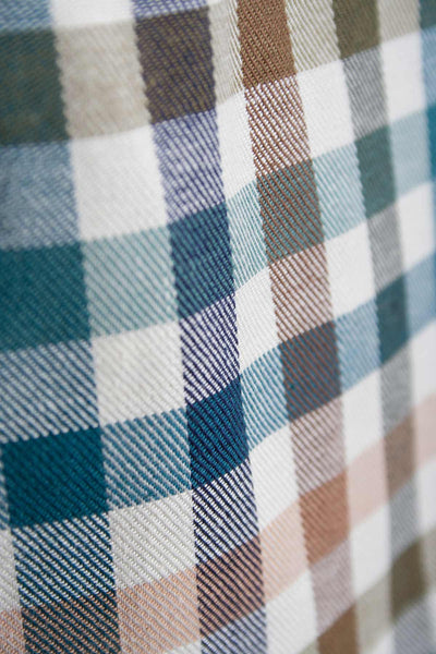 Harvest Dark Check -  Rydale Long Sleeved Check shirt