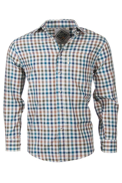 Harvest Dark Check - Gentlemans Check Shirt