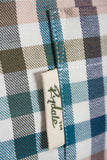 Harvest Dark Check - Mens Colourful Gingham Country Checked Shirt