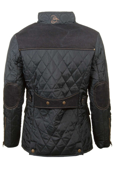 Black - Soft Quilted Biker Babe Jacket