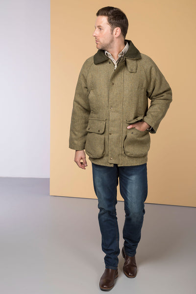 Plain - Padded Tweed Shooting Jacket