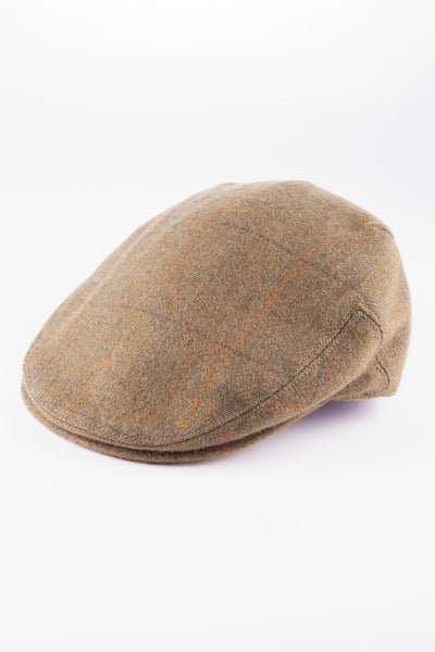 Mid Check - Derby Tweed Flat Caps
