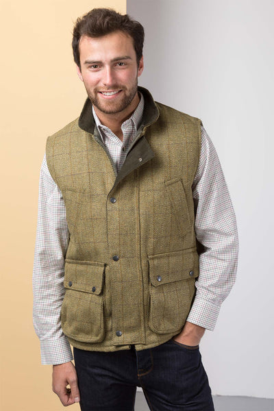 Light Check - Derby Tweed Gilet