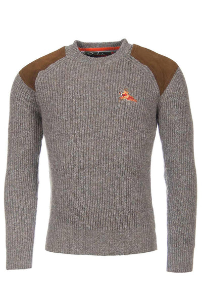 Derby Pheasant - Chunky Knit Shooting Sweater