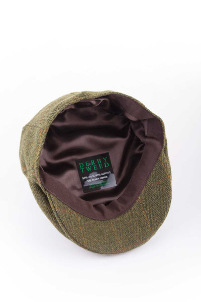 Dark Check - Childrens Tweed Hats
