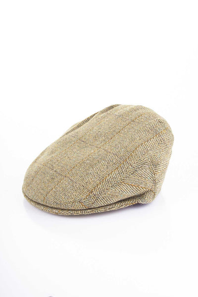 Light Check - Junior Derby Tweed Flat Cap