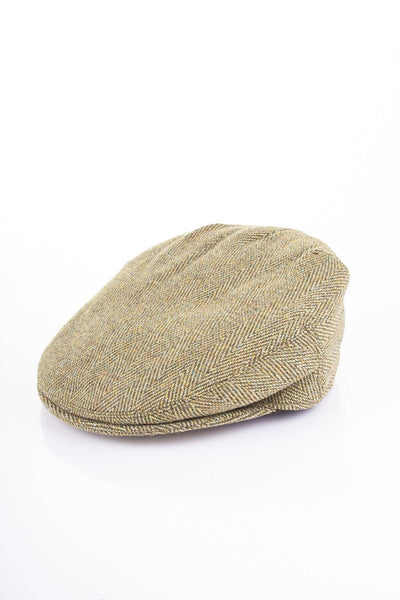 Plain - Junior Derby Tweed Flat Cap