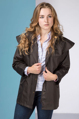 Dark Brown - Ladies Derwent II Jacket