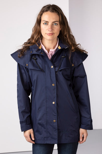 Navy - Derwent III 3/4 Length Riding Coat