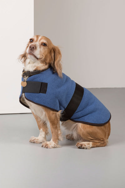 Denim - Rydale Fleece Dog Coat