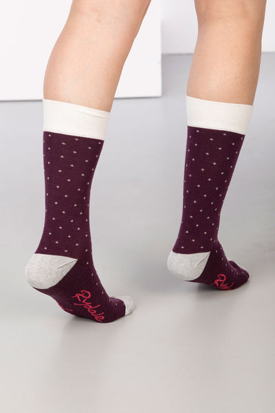 Berry - Dotty Ankle Socks