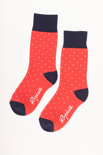 Cherry - Dotty Ankle Socks
