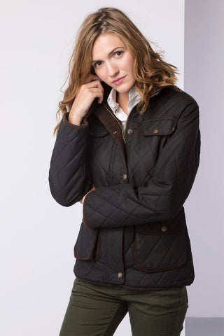 Milly Belted Waxed Jacket