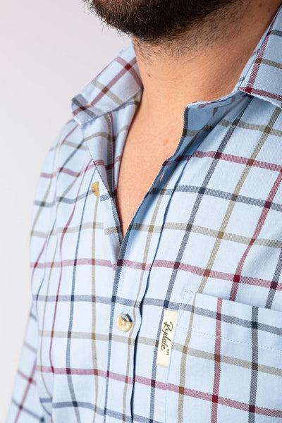 Blue - Ebberston Country Check Shirts