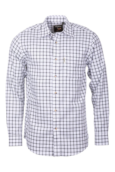 Ebberston Olive - Men's Country Checked Shirt - Ebberston