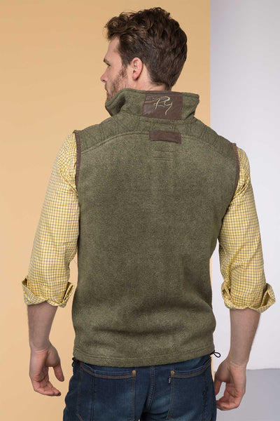 Light Olive - Egton Fleece Gilet