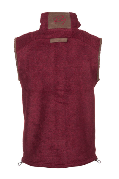 Deep Red Pheasant - Egton Fleece Gilet