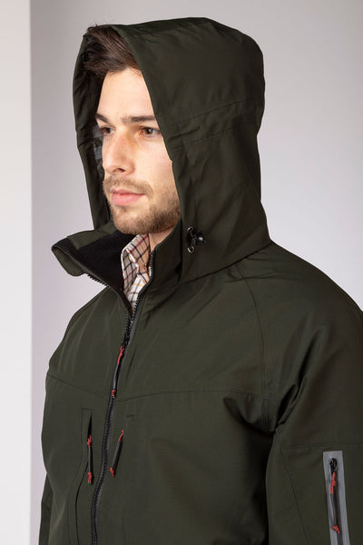 Dark Olive - Egton Hiking Jacket
