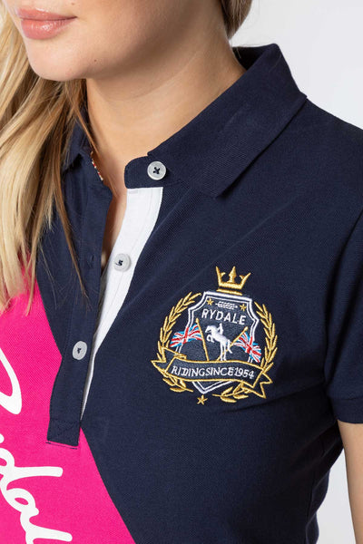 Navy - Ellie Sash Polo Shirt
