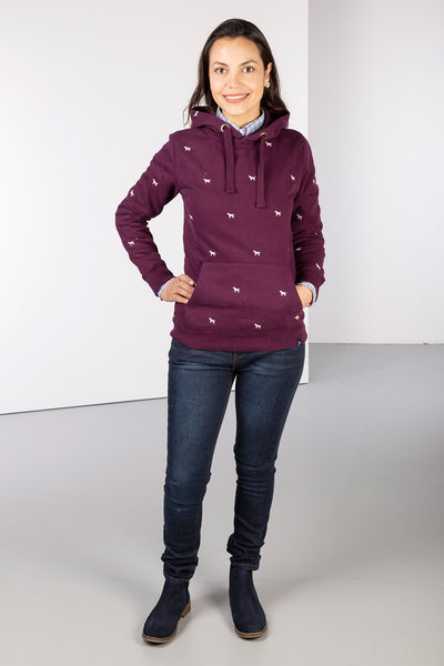 Berry Dog - Ladies Emily Embroidered Hoody