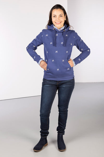 Denim Hare - Ladies Emily Embroidered Hoody