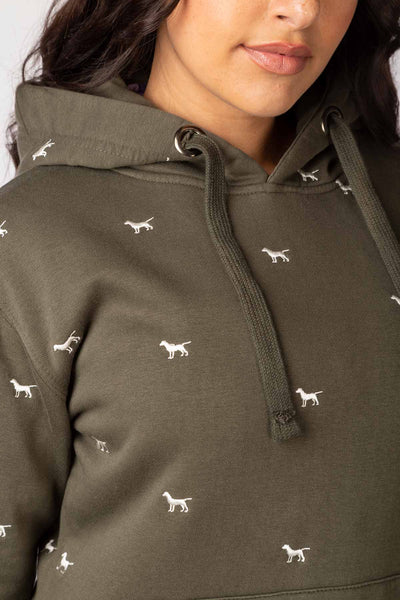 Ladies Emily Embroidered Hoody