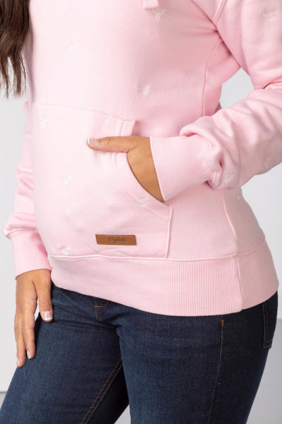 Sorbet - Ladies Emily Embroidered Hoody
