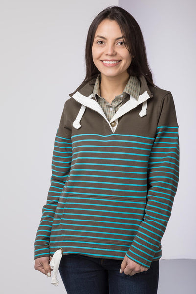 Bark/Sky - Ladies Etton II Sweatshirt