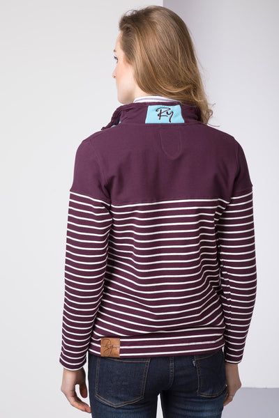 Berry/Vanilla - Ladies Etton II Sweatshirt