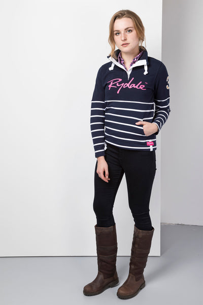 Navy - Ladies Etton Sweatshirt
