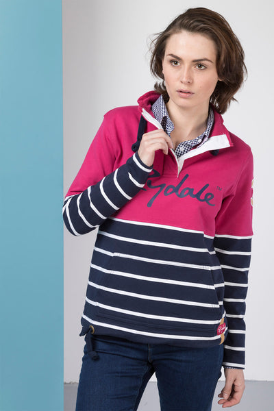 Raspberry - Ladies Etton Sweatshirt