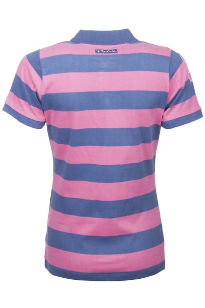 Jblue / Candy Stripe - Classic Polo Tops