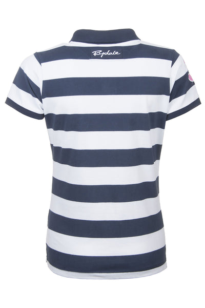 Navy / White Stripe - Classic Polo Tops