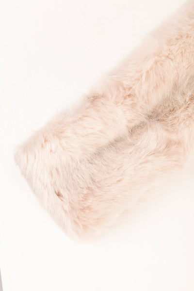 Pink - Faux Fur Headband
