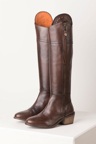 Feversham Tall Leather Heeled Boot