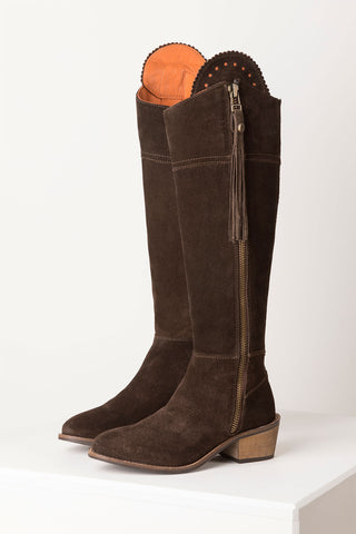 Feversham Tall Suede Heeled Boot