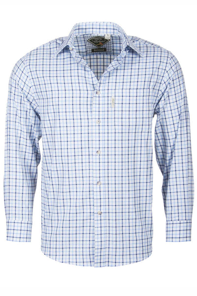 Richmond Fine Blue/navy - Country Check Shirts For Him