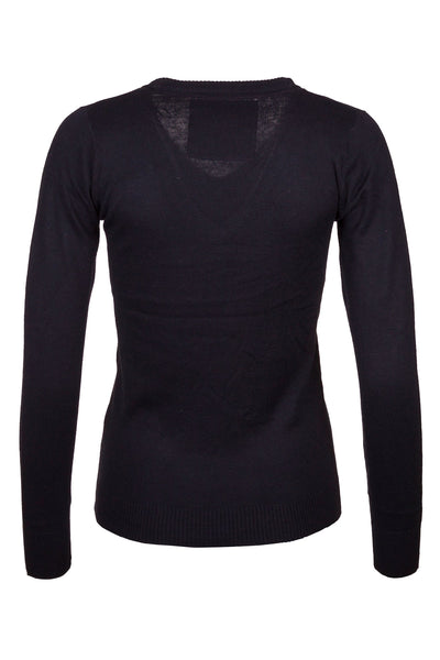 Black - Fine Knit Sweater
