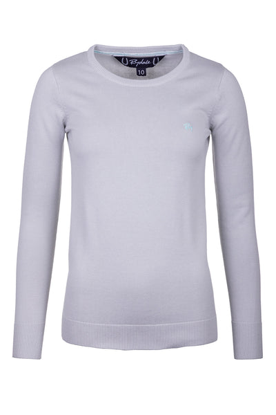 Silver - Ladies Round Neck Sweater