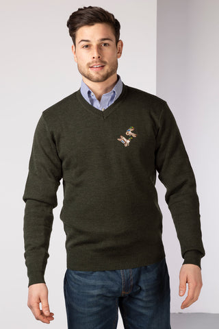 Fine V Neck Shooting Jumper