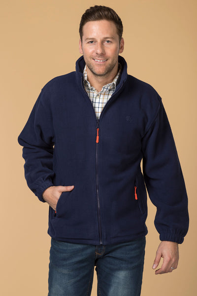 Navy - Men's Flaxton II Fleece