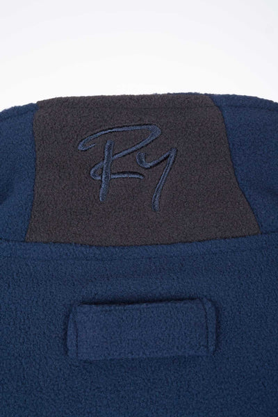 Navy - Mens Full Zip Fleece Jacket